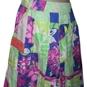 Lilly Pulitzer Multicolor Skirt Size: 6 (S, 28)